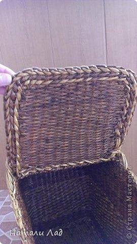 Поделка изделие Плетение Снова пикник Трубочки бумажные фото 10