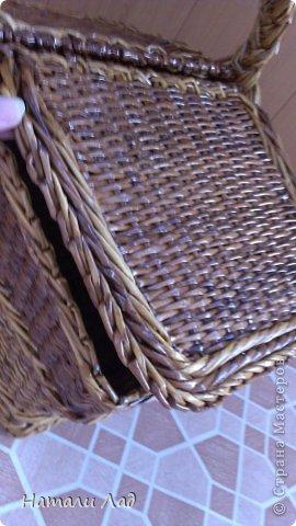 Поделка изделие Плетение Снова пикник Трубочки бумажные фото 11