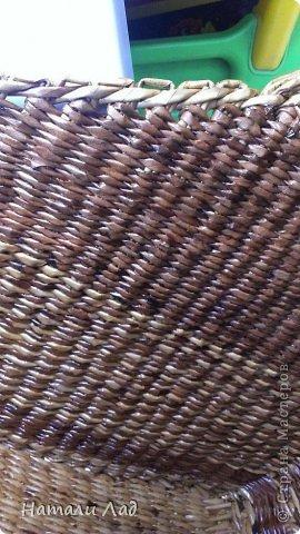 Поделка изделие Плетение Снова пикник Трубочки бумажные фото 12