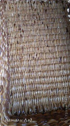 Поделка изделие Плетение Снова пикник Трубочки бумажные фото 13
