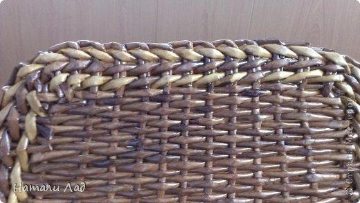 Поделка изделие Плетение Снова пикник Трубочки бумажные фото 14