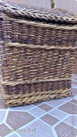 Поделка изделие Плетение Снова пикник Трубочки бумажные фото 15