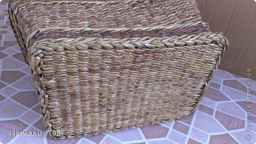 Поделка изделие Плетение Снова пикник Трубочки бумажные фото 16