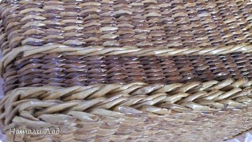 Поделка изделие Плетение Снова пикник Трубочки бумажные фото 17