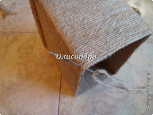 Вот такую коробочку для бумаг я сделала из ненужной коробки... Как это начиналось можно посмотреть здесь... http://stranamasterov.ru/node/141514. Фото 8