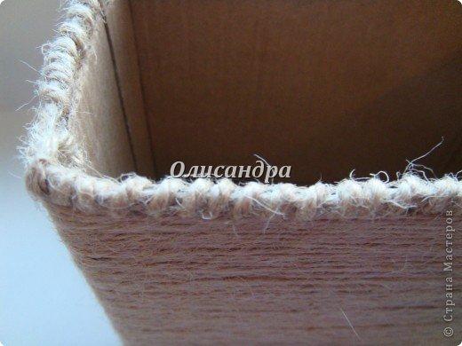 Вот такую коробочку для бумаг я сделала из ненужной коробки... Как это начиналось можно посмотреть здесь... http://stranamasterov.ru/node/141514. Фото 10