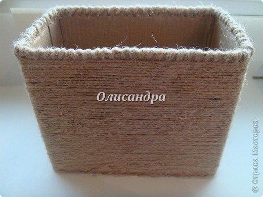 Вот такую коробочку для бумаг я сделала из ненужной коробки... Как это начиналось можно посмотреть здесь... http://stranamasterov.ru/node/141514. Фото 11