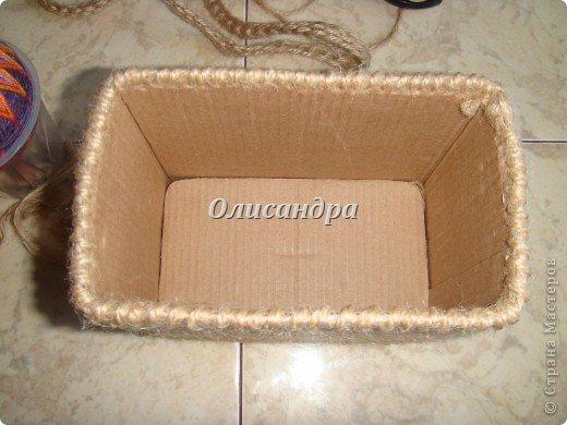 Вот такую коробочку для бумаг я сделала из ненужной коробки... Как это начиналось можно посмотреть здесь... http://stranamasterov.ru/node/141514. Фото 15