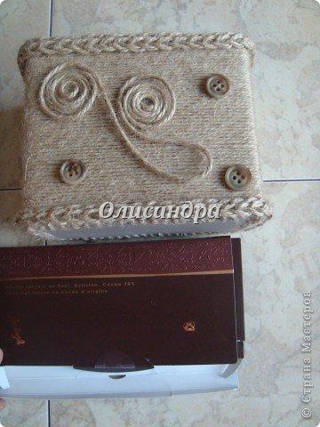 Вот такую коробочку для бумаг я сделала из ненужной коробки... Как это начиналось можно посмотреть здесь... http://stranamasterov.ru/node/141514. Фото 16