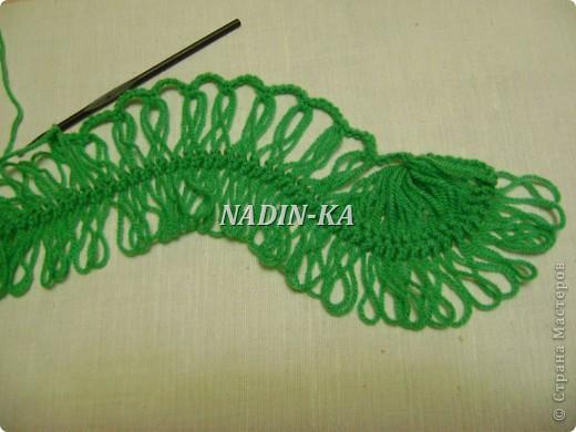 Гардероб, Мастер-класс Вязание, Вязание крючком: МК вязание на вилке. 1 Нитки, Пряжа. Фото 16