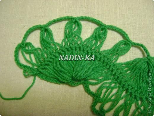Гардероб, Мастер-класс Вязание, Вязание крючком: МК вязание на вилке. 1 Нитки, Пряжа. Фото 17