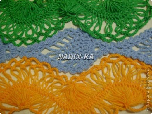 Гардероб, Мастер-класс Вязание, Вязание крючком: МК вязание на вилке. 1 Нитки, Пряжа. Фото 27