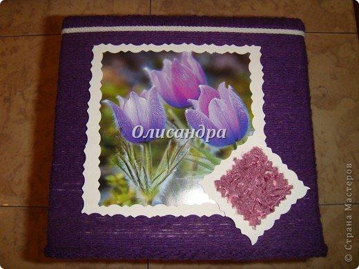 """""""Первая серия"""" здесь ...   http://stranamasterov.ru/node/176881   Но она неинтересная... Вторая намного симпатичнее... Это та же коробочка с другой стороны... Итак, декор.... Фото 6"""