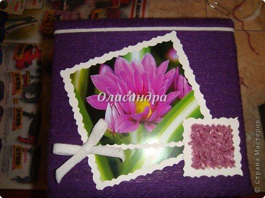 """""""Первая серия"""" здесь ...   http://stranamasterov.ru/node/176881   Но она неинтересная... Вторая намного симпатичнее... Это та же коробочка с другой стороны... Итак, декор.... Фото 9"""