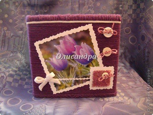 """""""Первая серия"""" здесь ...   http://stranamasterov.ru/node/176881   Но она неинтересная... Вторая намного симпатичнее... Это та же коробочка с другой стороны... Итак, декор.... Фото 20"""