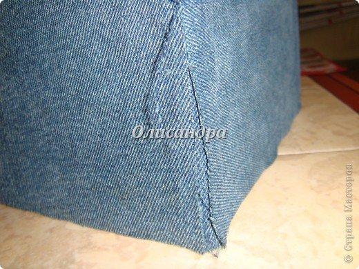 """Наконец-то, у меня дошли руки до джинсовых залежей, поэтому сегодня хочу продолжить """"джинсовую тему""""... , которую начала здесь... http://stranamasterov.ru/node/219208. Фото 12"""