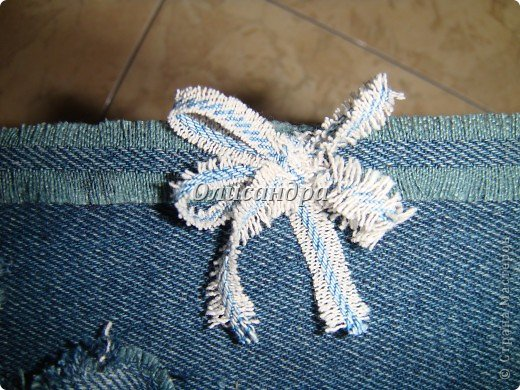 """Наконец-то, у меня дошли руки до джинсовых залежей, поэтому сегодня хочу продолжить """"джинсовую тему""""... , которую начала здесь... http://stranamasterov.ru/node/219208. Фото 21"""