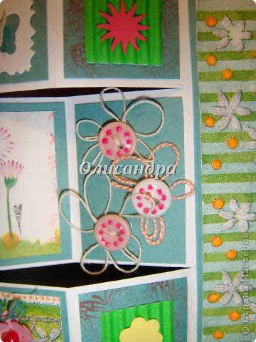 Очень нравится такая форма открытки...  Здесь можно посмотреть ,как это делается...   http://stranamasterov.ru/node/233169  , там ссылочки на МК ... А я решила, что больше делать такие не буду... Уже хочется чего-то новенького.... Фото 8