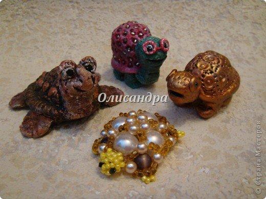 Я коллекционирую черепашек и пытаюсь делать их своими руками из различных материалов... . Фото 37