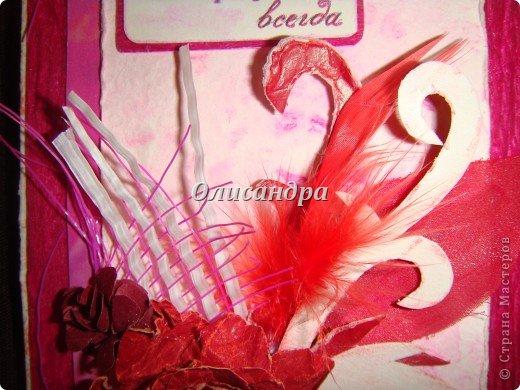 Здравствуйте, мои дорогие! Сделала небольшой презентик для подружки... топиарий из сухоцветов .... Фото 13