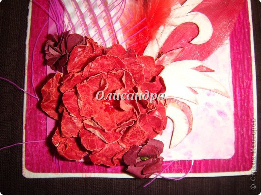Здравствуйте, мои дорогие! Сделала небольшой презентик для подружки... топиарий из сухоцветов .... Фото 12