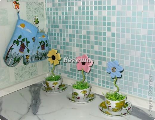 Мастер-класс: Салфеточные цветочки Бисер, Гипс, Проволока, Салфетки. Фото 1