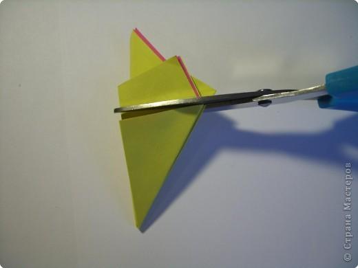 Мастер-класс Оригами МК Цветы Бумага фото 11