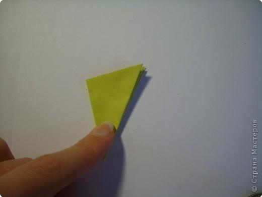 Мастер-класс Оригами МК Цветы Бумага фото 12