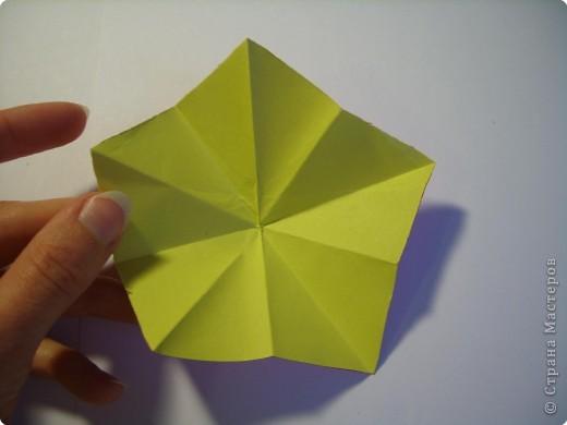 Мастер-класс Оригами МК Цветы Бумага фото 13