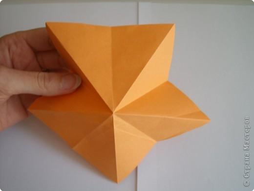 Мастер-класс Оригами МК Цветы Бумага фото 54