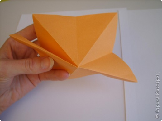 Мастер-класс Оригами МК Цветы Бумага фото 55