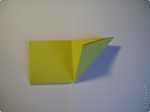 Мастер-класс Оригами МК Цветы Бумага фото 4