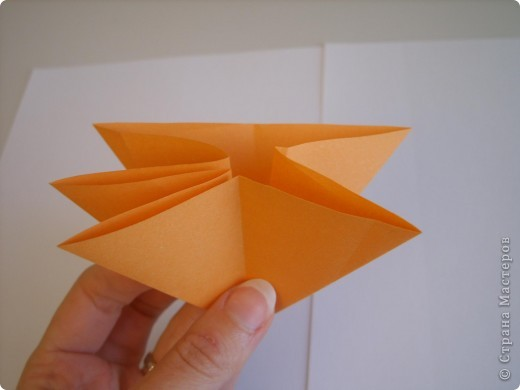 Мастер-класс Оригами МК Цветы Бумага фото 56