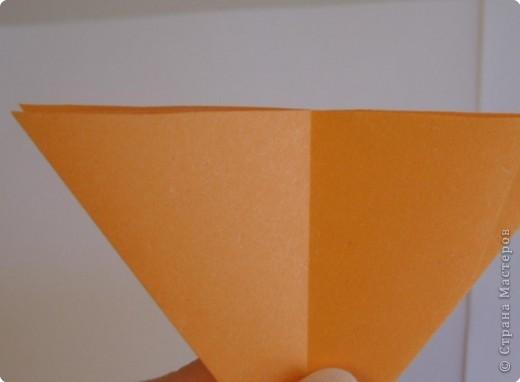 Мастер-класс Оригами МК Цветы Бумага фото 57