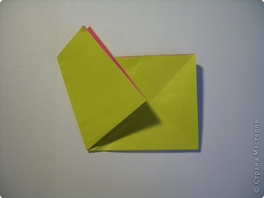 Мастер-класс Оригами МК Цветы Бумага фото 6