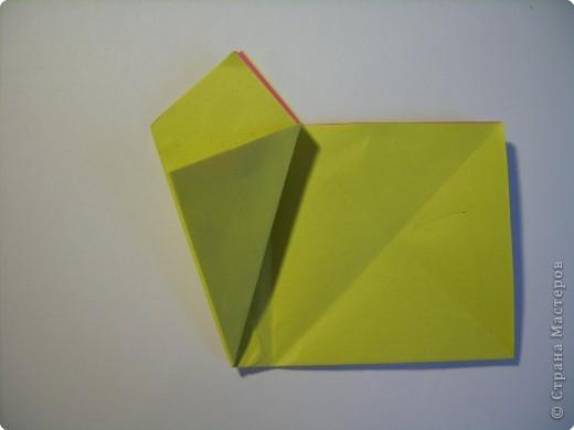Мастер-класс Оригами МК Цветы Бумага фото 7