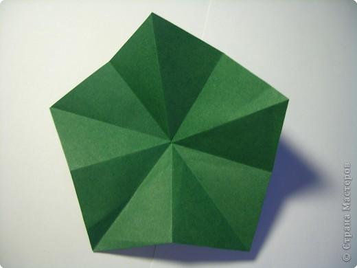 Мастер-класс Оригами МК Цветы Бумага фото 35