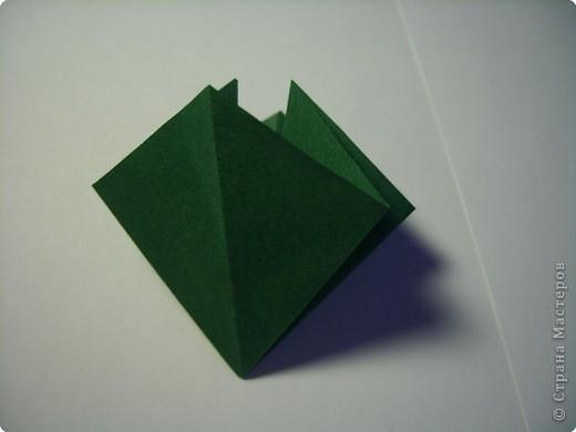 Мастер-класс Оригами МК Цветы Бумага фото 36