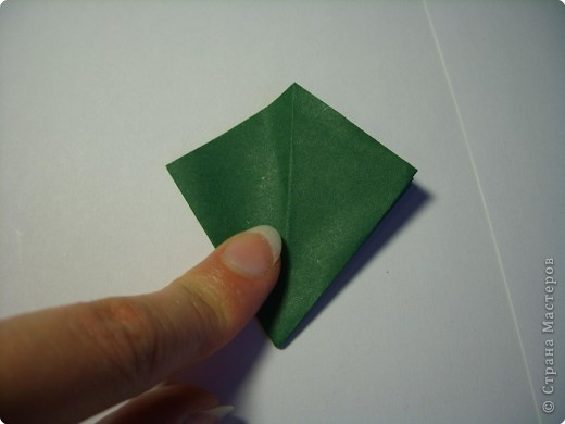 Мастер-класс Оригами МК Цветы Бумага фото 37