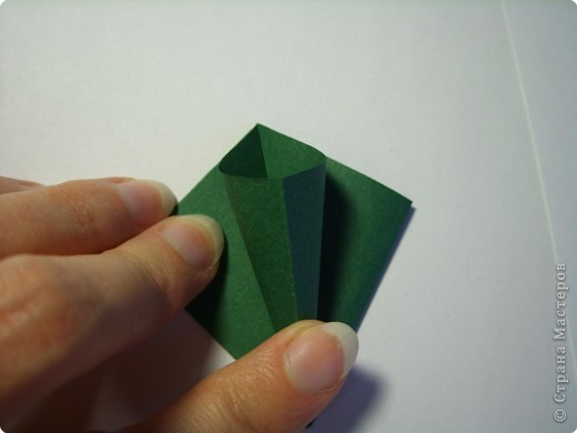 Мастер-класс Оригами МК Цветы Бумага фото 38