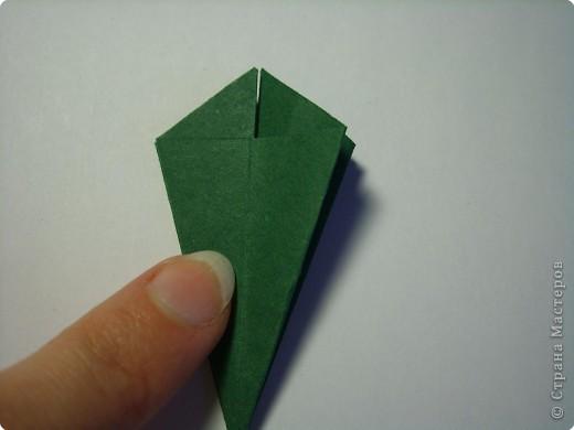 Мастер-класс Оригами МК Цветы Бумага фото 40