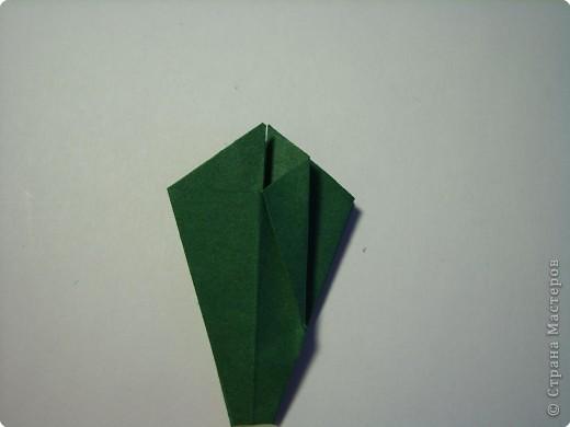 Мастер-класс Оригами МК Цветы Бумага фото 41