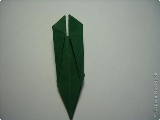 Мастер-класс Оригами МК Цветы Бумага фото 42