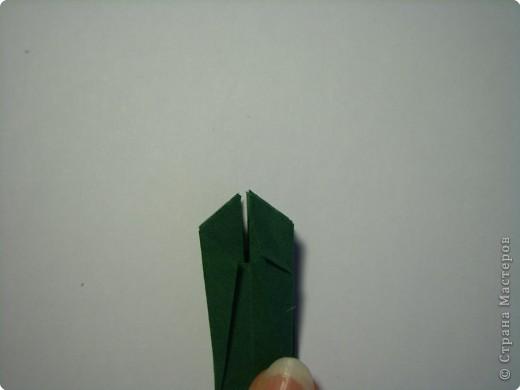 Мастер-класс Оригами МК Цветы Бумага фото 43