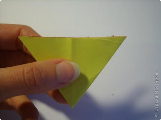 Мастер-класс Оригами МК Цветы Бумага фото 15