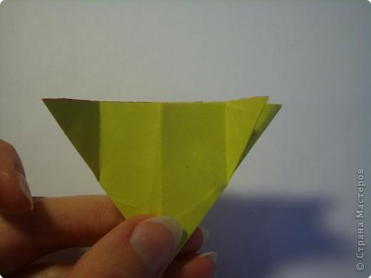 Мастер-класс Оригами МК Цветы Бумага фото 17