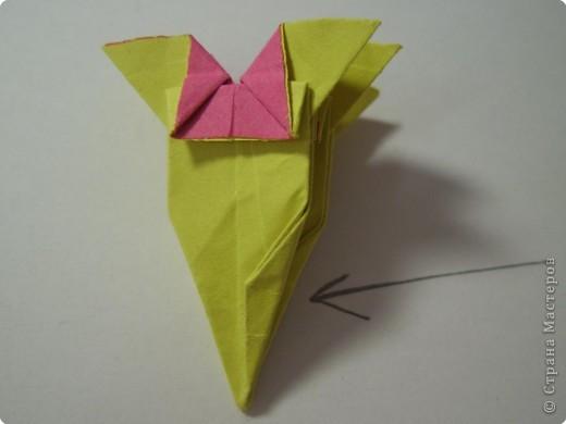 Мастер-класс Оригами МК Цветы Бумага фото 25