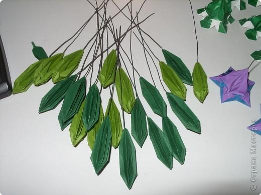 Мастер-класс Оригами МК Цветы Бумага фото 48