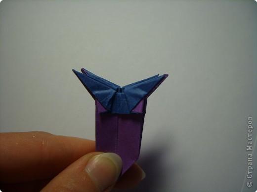 Мастер-класс Оригами МК Цветы Бумага фото 31