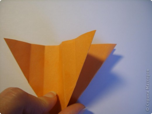 Мастер-класс Оригами МК Цветы Бумага фото 59